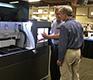Неиспользованный для печати материал в ProJet 4500 перерабатывается и применяется повторно