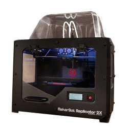 Фото 1, 3D принтер MakerBot Replicator 2x